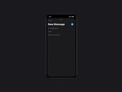 iOS Multitasking with Split Screen iphone11 interactiondesign interaction motiongraphics designsystem xd after effect ios