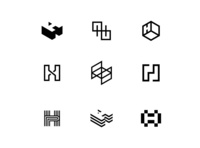 H Letter Icon Exploration