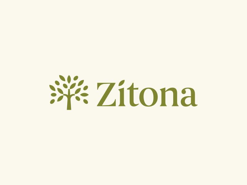 Zitona / Olive tree branch symbol mark icon logo fruit green tree olive zitona