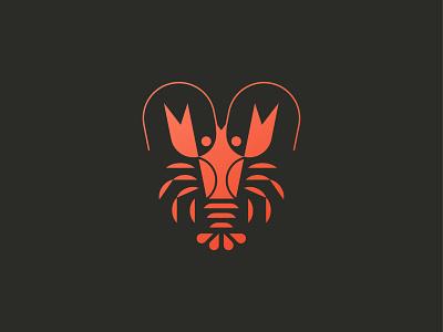 Lobster food animal symbol mark icon logo crab seafood lobster