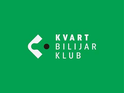 Kvart Bilijar Klub symbol mark icon logo table ball club billiard kvart