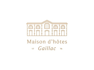 Hotel Delga Architecture luxury france maison hotel symbol mark icon logo architecture building detail