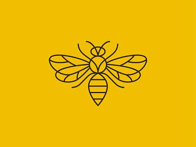 Napoleon Bee animal symbol mark icon logo napoleon insect bee