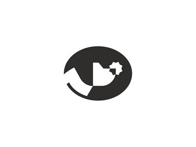 Truffle Hunting Dog tartuf animal symbol mark icon logo find hound dog fungus mushroom woods truffles truffle