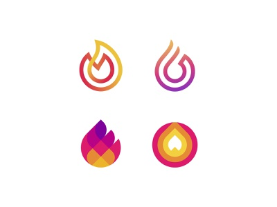 Fire symbol mark icon logo burn light flame fireworks fire