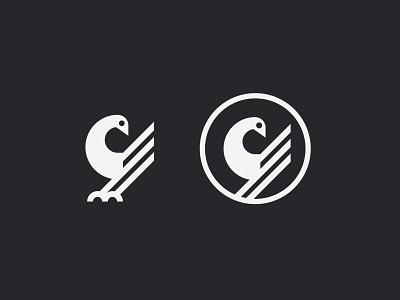 Sankofa Bird Symbol animal simple symbol mark icon logo egg head wings bird sankofa