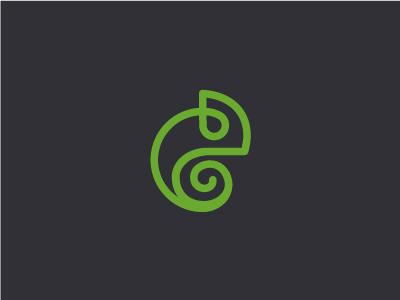 Chameleon chameleon culture green logo animal