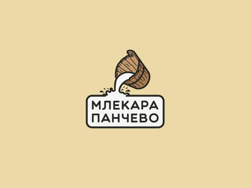 """""""Pančevo"""" dairy logo food dairy milk"""