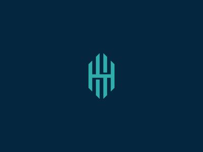 HH Monogram icon logo letters monogram hh