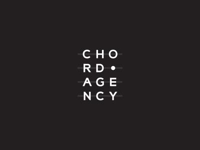 Chord Agency lines design branding logo agency chord