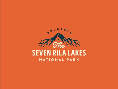 The Seven Rila Lakes icon logo mountain nature water lakes lake rila seven