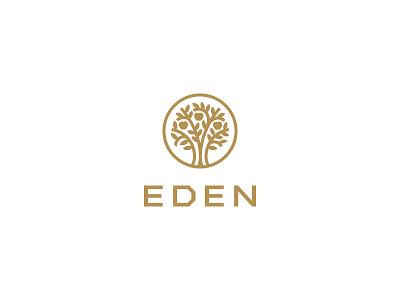 Eden Interior Design heaven apple icon logo luxury architect tree design interior eden