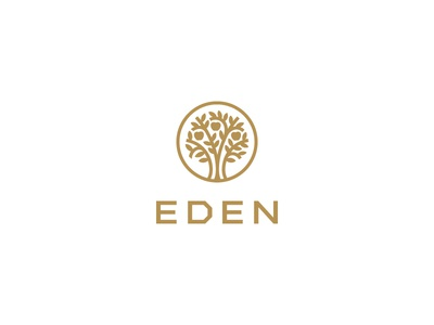 Eden Interior Design heaven apple icon logo luxury architect tree design interior eden