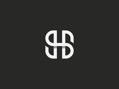 SH monogram symbol mark icon logo letters letter monogram h s