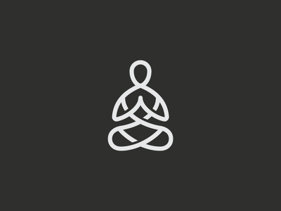 Yoga Retreats symbol mark icon logo zen guru meditation retreat yoga