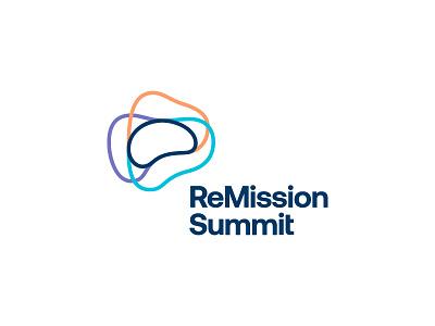 ReMission Summit / Brain Cancer Summit icon symbol mark remission summit logo mind cancer cure brain