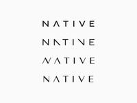 Native wordmark exploration