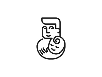 DADicated human people parent love symbol mark icon logo care hand child kid father dad