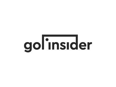Gol Insider Logo player football soccer ball simple symbol mark icon logo goal