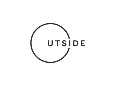 Outside wordmark letter black white letters symbol mark icon logo box side out outside