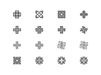 Church Logos symbol mark icon logo hands people faith religion cross church citizens