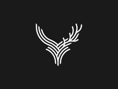 What do you see? horns stag letter animal daemon deer y antlers