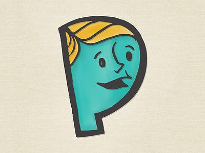Dribbble illustration monogram
