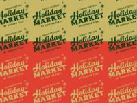 holiday market logo