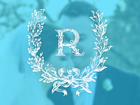Rooney wedding logo