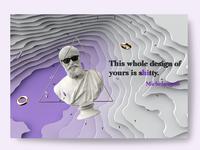 Michelangelo about design