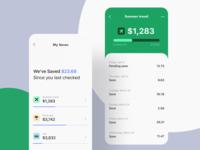 Mobile App for Saving Money