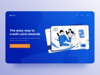 Travel Reward Credit Card Service Website