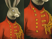 Rabbit in uniform Rebound