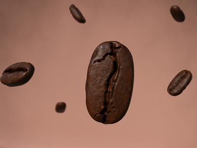 Coffee Bean cormoranstudio cinema4d design concept realistic cafe coffee bean 3d