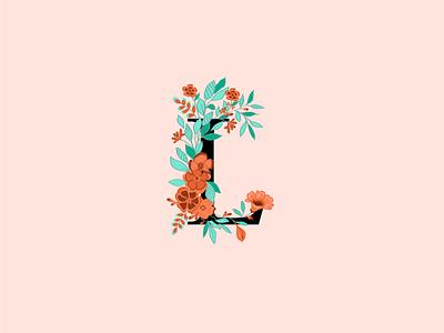 Letter design graphic design design illustration vector