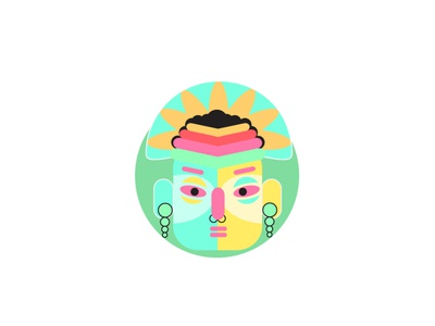 Character for the Indian brand 2d art design vector illustration