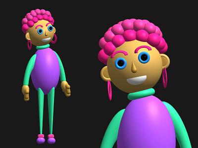 3D character 3d art 3d