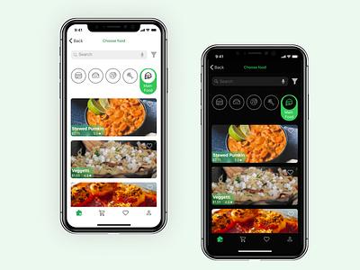 Food Delivery App ui food app flat design app delivery app