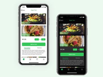 Food Delivery App ui food app flat app design delivery app