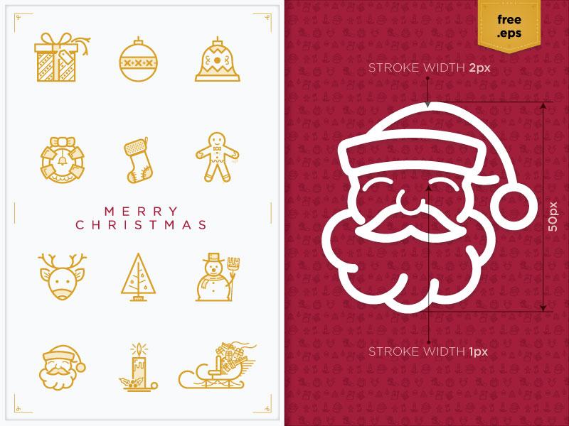 Christmas Icons 2015 xmas santa gift christmas candy 2015 winter free icons candle