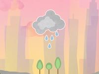 Rain Cloud In Zap City