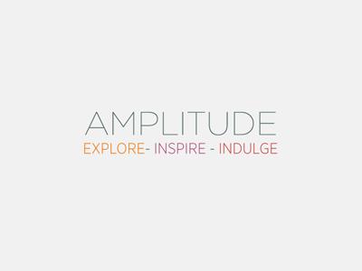 Amplitude - what am I? text type amplitude idea
