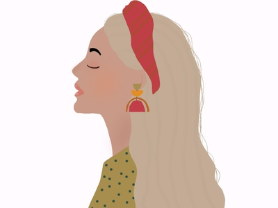 Girly digital illustration illustration drawing design