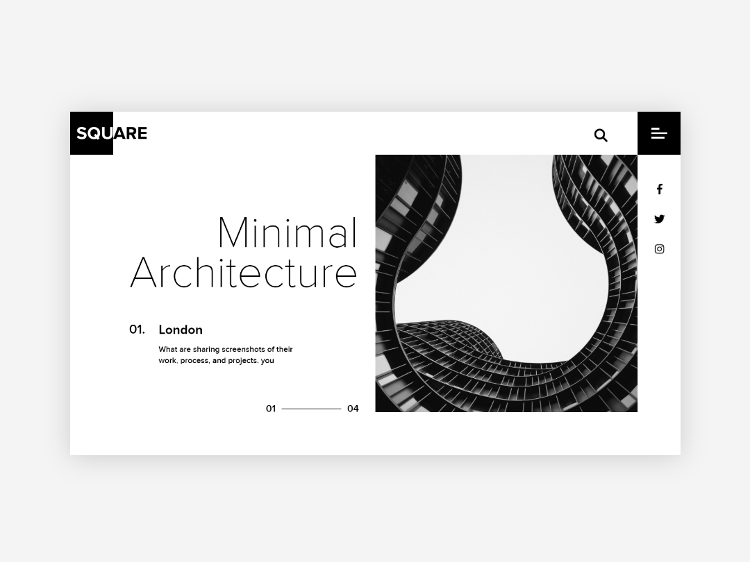 Minimal Architecture By Abdllah Rusafy