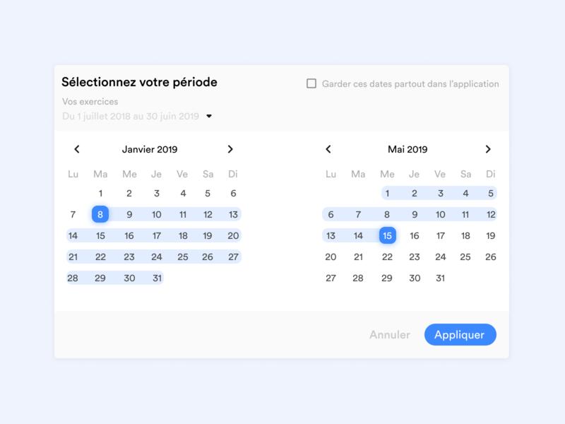 Date picker dribbble app interface application ux webdesign ui design date picker datepicker calendar