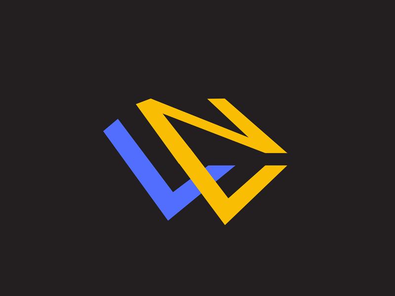 Lettermark Logo Concept virginiamaxim lettermark letters creative agency graphic design business art illustrator logo designer logo websites web nozweb