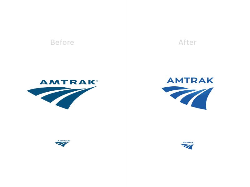 Amtrak Logo Iteration logo amtrak