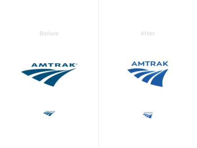 Amtrak Logo Iteration