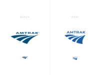 Amtrak Logo Iteration