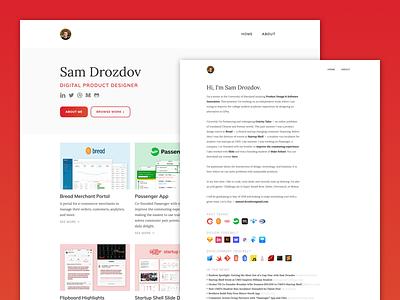 New Personal Website portfolio website
